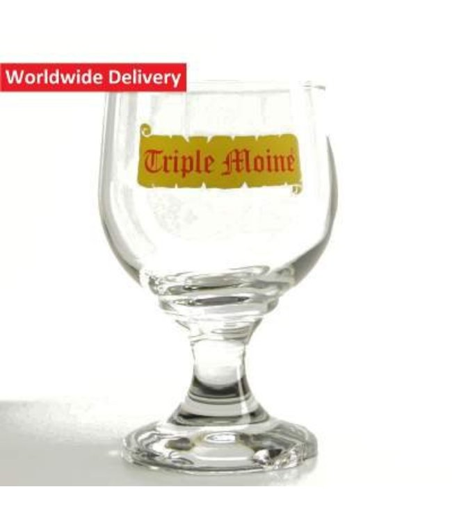 Triple Moine Beer Glass - 33cl