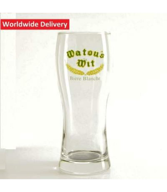GLAS l-------l Watou Witbier Bierglas - 25cl