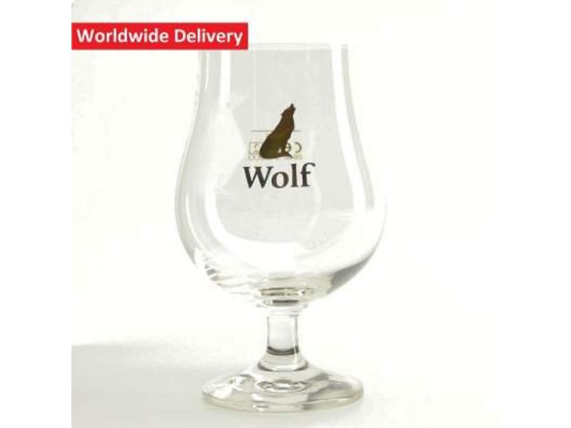 Wolf Beer Glass
