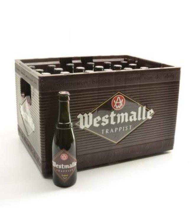 24 FLESSEN    l-------l Westmalle Trappist Dubbel Bierkorting (-10%)