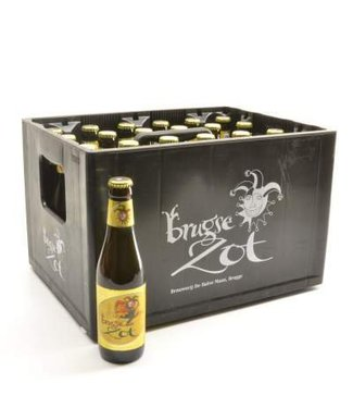 24 FLESSEN    l-------l Brugse Zot Blond Bierkorting (-10%)