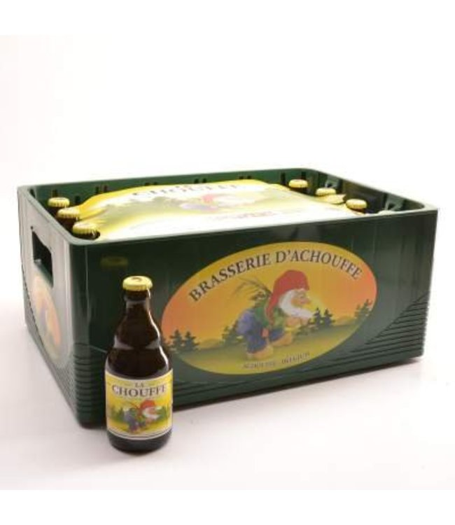 24 FLESSEN    l-------l La Chouffe Bierkorting (-10%)