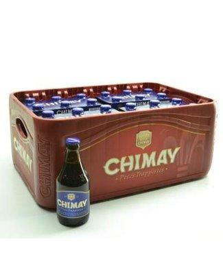 24 FLESSEN    l-------l Chimay Blauw Bierkorting (-10)