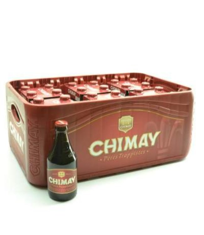 24 FLESSEN    l-------l Chimay Rood Premiere Bierkorting (-10%)
