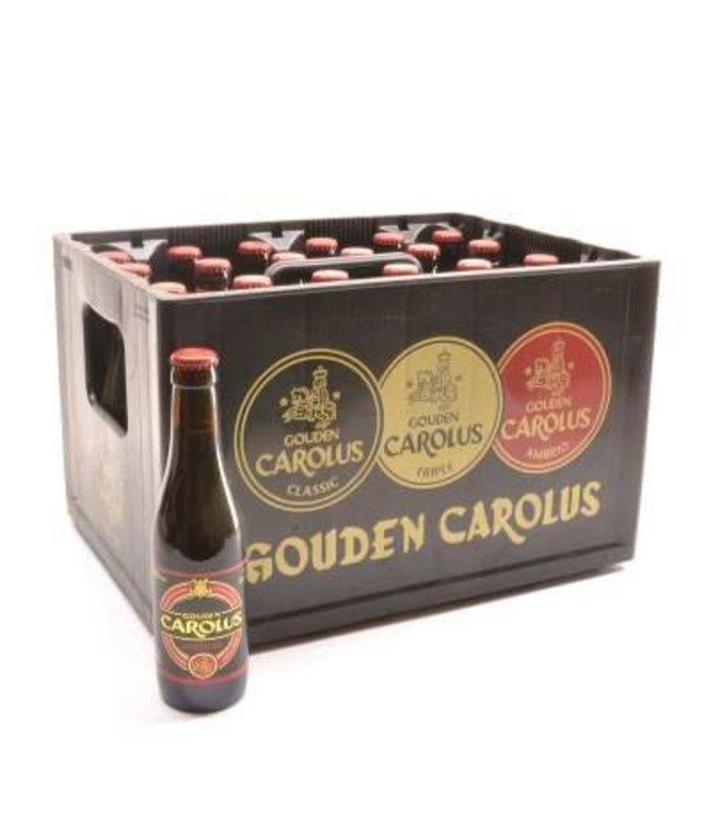 24 FLESSEN    l-------l Gouden Carolus Ambrio Bierkorting (-10%)