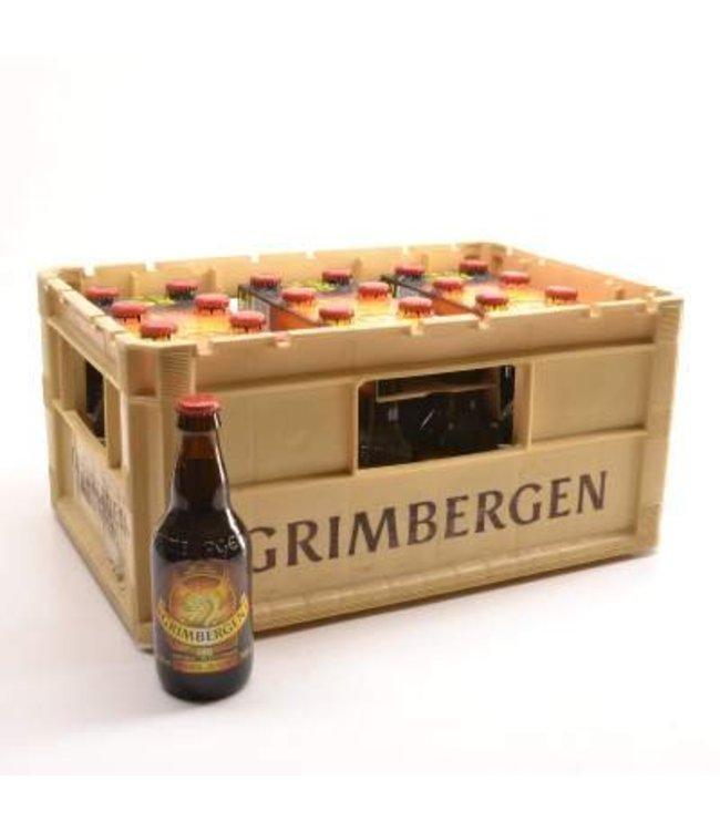 24 FLESSEN    l-------l Grimbergen Dubbel Bierkorting (-10%)