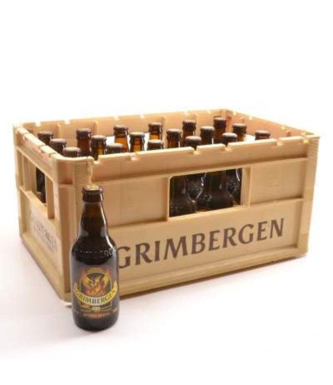 24 FLESSEN    l-------l Grimbergen Optimo Bruno Bierkorting (-10%)