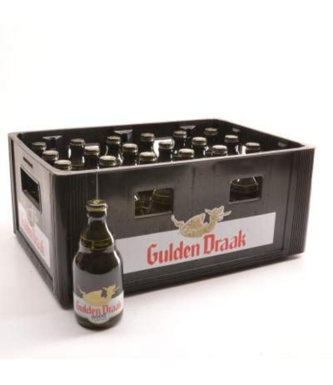 24 FLESSEN    l-------l Gulden Draak Quadruple Bierkorting (-10%)