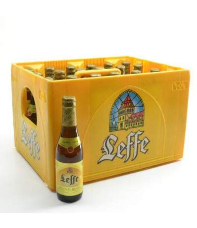 24 FLESSEN    l-------l Leffe Blond Bierkorting (-10%)