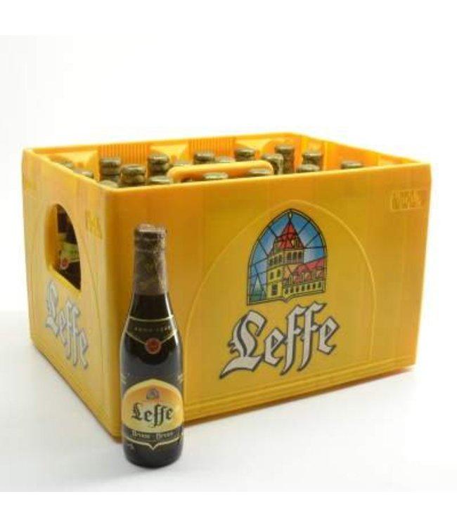 24 FLESSEN    l-------l Leffe Bruin Bierkorting (-10%)