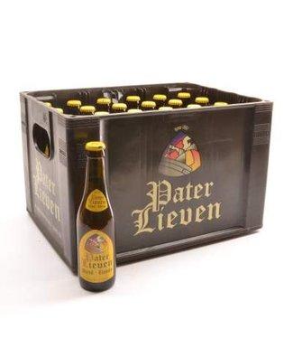 24 FLESSEN    l-------l Pater Lieven Blond Bierkorting (-10%)