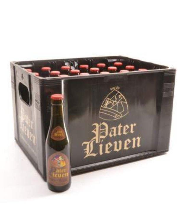 24 FLESSEN    l-------l Pater Lieven Bruin Bierkorting (-10%)