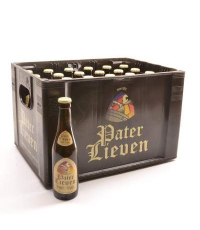 24 FLESSEN    l-------l Pater Lieven Tripel Bierkorting (-10%)