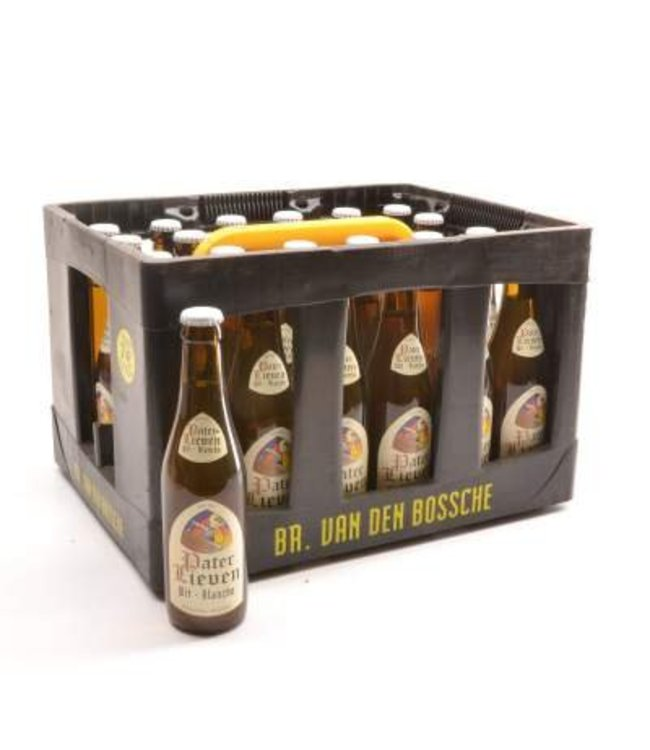 24 FLESSEN    l-------l Pater Lieven Wit Bierkorting (-10%)