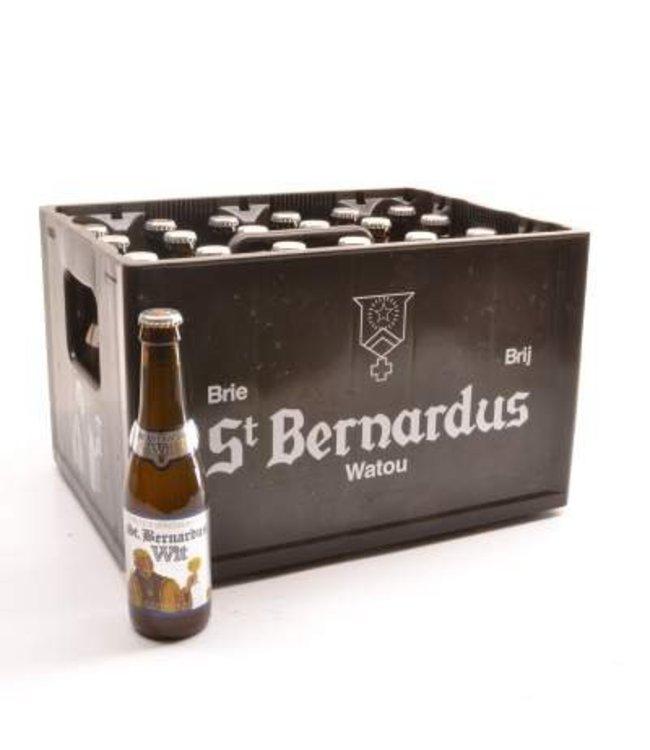 24 FLESSEN    l-------l St Bernardus Wit Bierkorting (-10%)