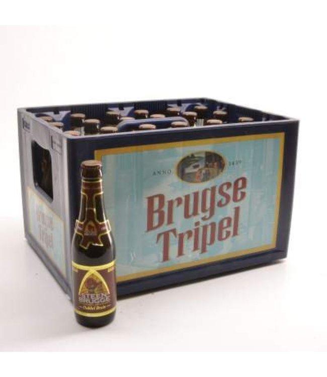 24 FLESSEN    l-------l Steenbrugge Dubbel Bruin Bierkorting (-10%)