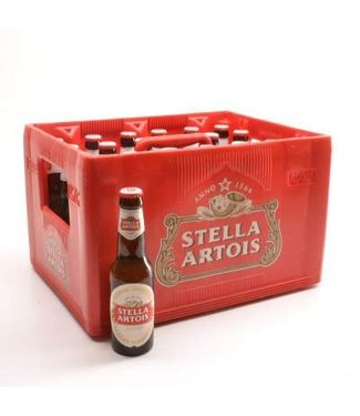 24 FLESSEN    l-------l Stella Artois Bier Discount (-10%)