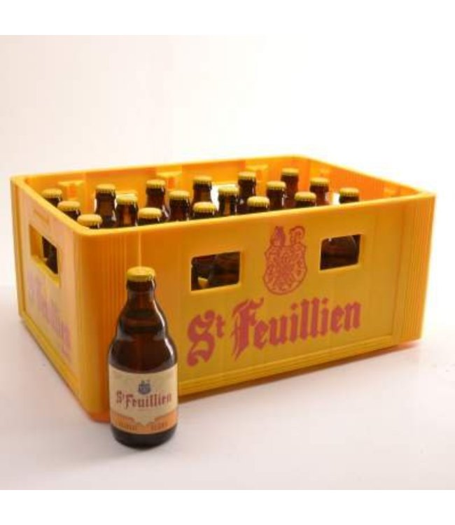 24 FLESSEN    l-------l St Feuillien Blond Bierkorting (-10%)