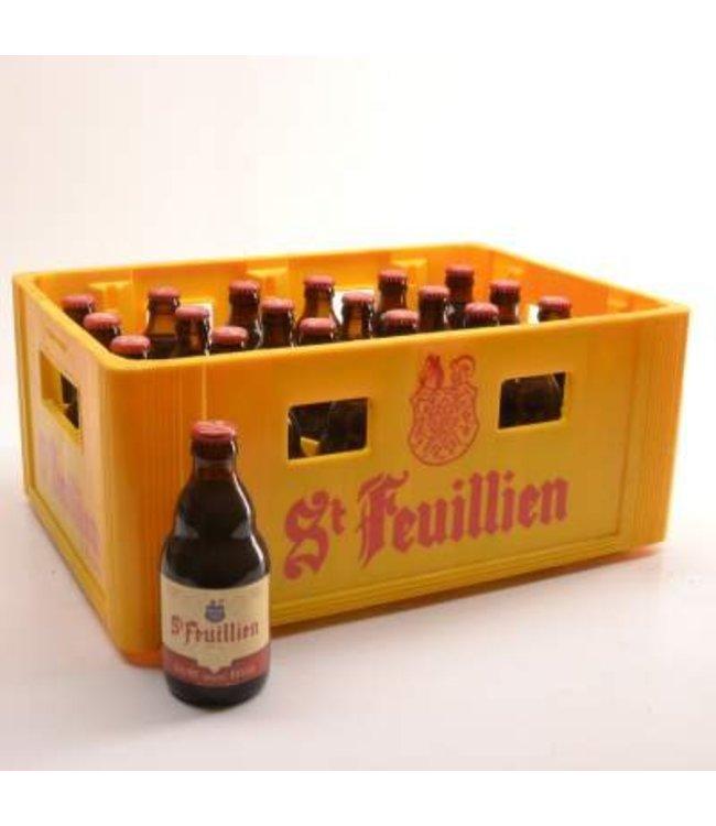 24 FLESSEN    l-------l St Feuillien Bruin Bierkorting (-10%)