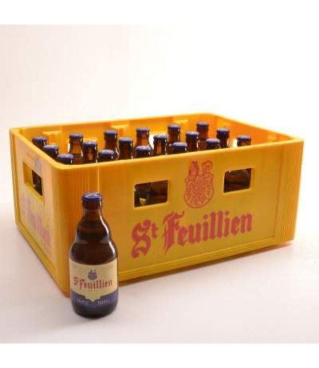 24 FLESSEN    l-------l St Feuillien Tripel Bierkorting (-10%)