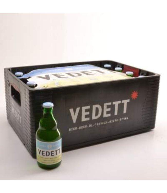 24 FLESSEN    l-------l Vedett Extra White Bierkorting (-10%)