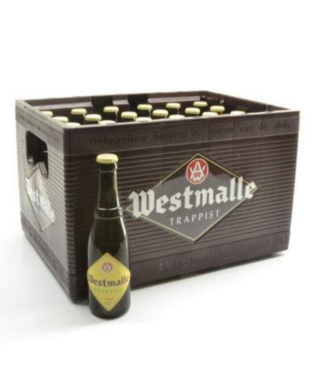 24 FLESSEN    l-------l Westmalle Trappist Tripel Bierkorting (-10%)