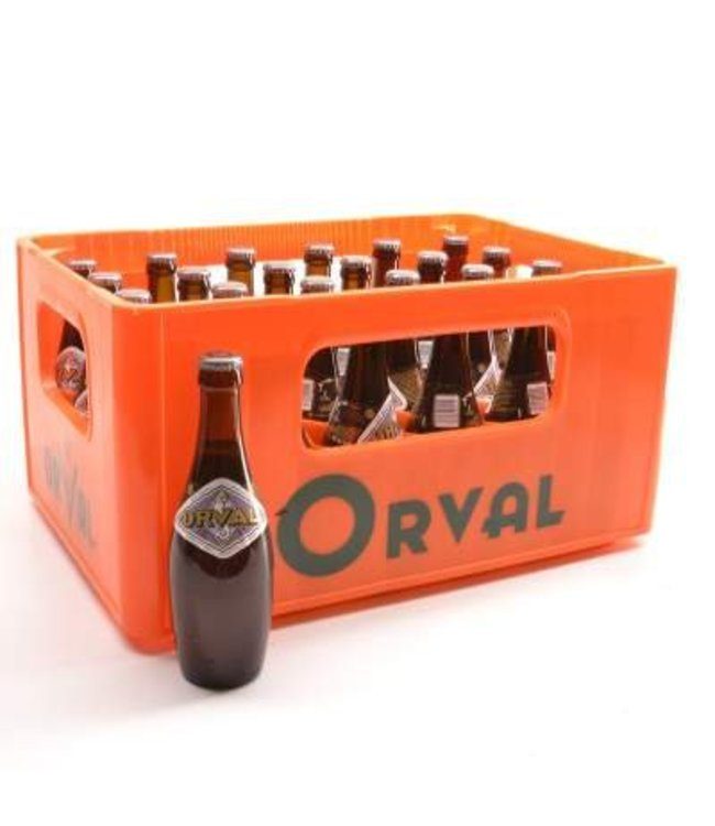 24 FLESSEN    l-------l Trappist Orval Bier Discount (-10%)
