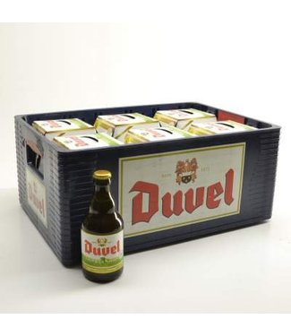 24 FLESSEN    l-------l Duvel Tripel Hop Bierkorting (-10%)