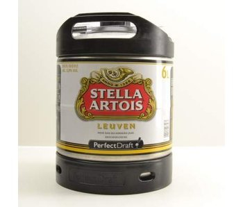 Stella Artois Perfect Draft Fass - 6l