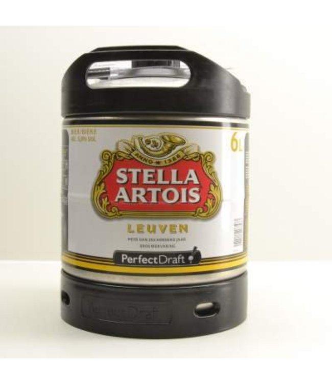 Stella Artois Perfect Draft Fass - 6l
