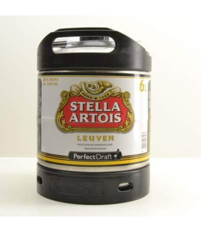 Stella Artois Perfect Draft vat - 6l