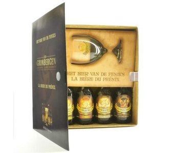 Coffret cadeau Grimbergen Book (4x33cl + gl)