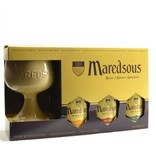 C Maredsous Bier Geschenk (Kelch)
