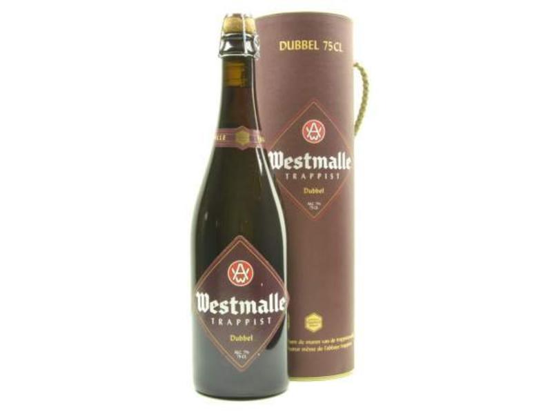 MG / STUK Coffret cadeau Westmalle Double (75cl + koker)