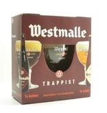 MG / STUK Westmalle Bier Geschenk (2x33cl + gl)