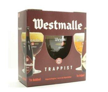 Westmalle Bier Geschenk (2x33cl + gl)