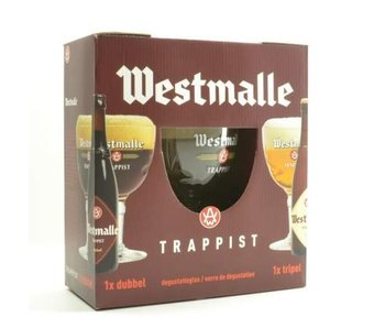 Westmalle Gift Pack (2x33cl + gl)