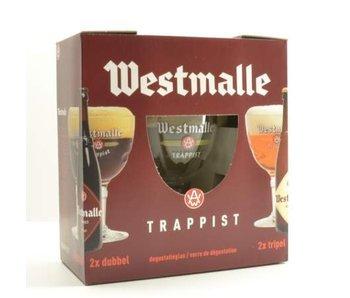 Coffret cadeau Westmalle (4x33cl + 2xgl)