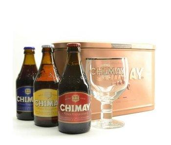 Chimay Bier Geschenk (3x33cl + gl)