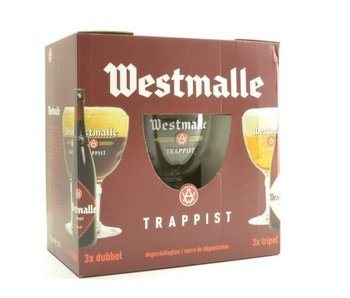 Westmalle Biergeschenk (6x33cl + gl)