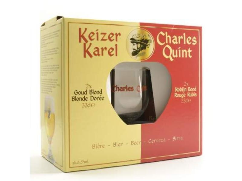 C Keizer Karel Bier Geschenk