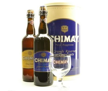 Chimay Gift Pack (2x75cl + 1xgl)