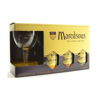 Maredsous Gift Pack (Glass)