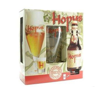 Coffret cadeau Hopus (2x33cl + gl)