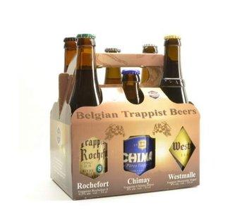 Coffret cadeau Trappistes Belges (6x33cl)