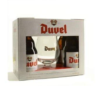 Duvel Biergeschenk (4x33cl + gl)
