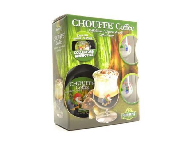 MG Chouffe Koffie Likeur Biergeschenk