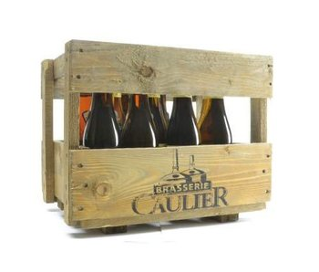 Kwak and Karmeliet Wooden Beer Gift