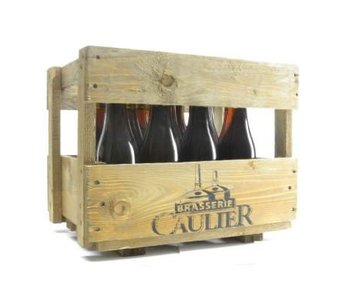 Trappistes Rochefort Wooden Beer Gift