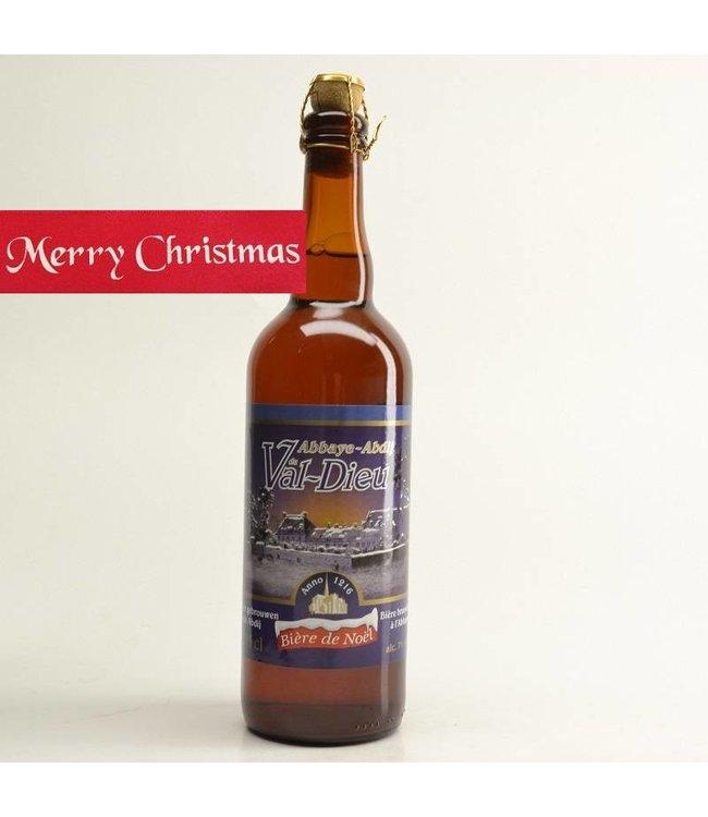75cl   l-------l Val Dieu Biere de Noel Kerst - 75cl